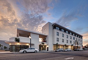 Wakeland Housing and Development Corp. recently completed the Talmadge Gateway senior apartment community in San Diego. Photo courtesy of Studio E Architects