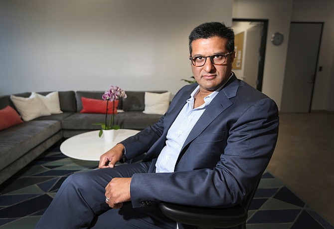 The weight-loss market proved a bust for Arena Pharmaceuticals Inc., but its new pipeline of medicines could be its lifeline, says company CEO Amit Munshi. Photo by Jamie Scott Lytle.
