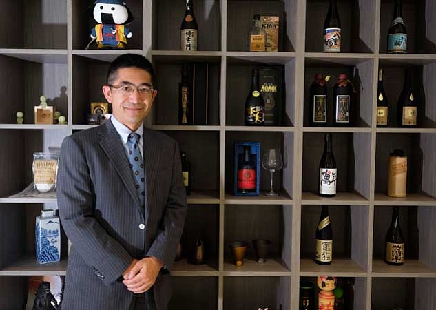 Export efforts: Keiichi Nishimoto, head of Japan External Trade Organization.