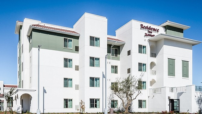 The Marriott Residence Inn Chula Vista -- Photo courtesy of Baldwin & Sons