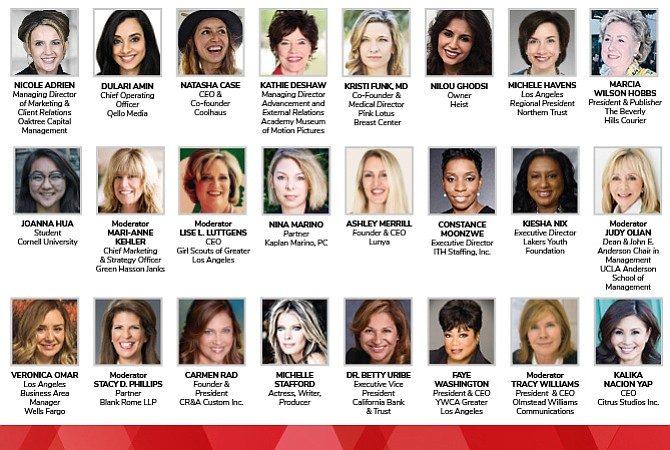 2017 Women's Summit speakers and panelists