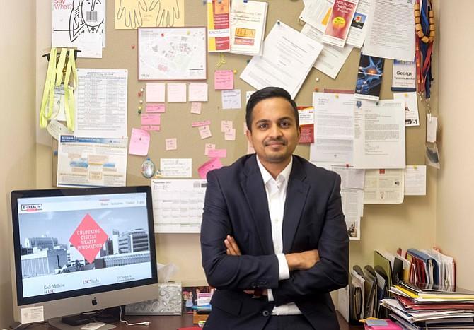 Karthik Murali, director of USC Digital Health Lab.