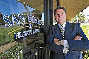 Tom Wornham, CEO of San Diego Private Bank.