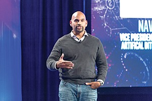 Naveen Rao founded Nervana, which Intel acquired for about $408 million in 2016. Courtesy of Intel