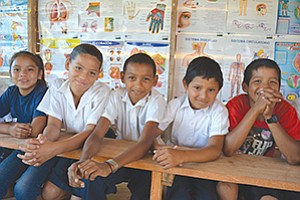 Students at the Luz y Vida Schoolhouse in Taleno on Nicaragua's Caribbean coast are among many who receive daily school meals through Project Concern International's McGovern-Dole International Food for Education Program. Photo courtesy of Amy Ostrander/PCI