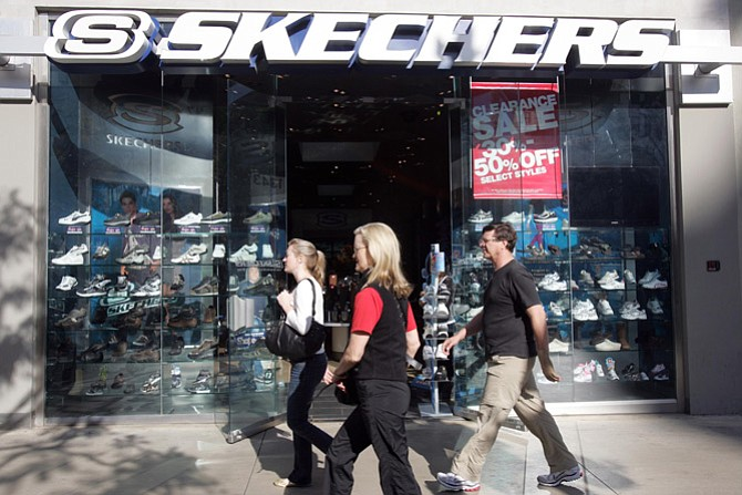 Skechers store at Third Street Promenade in Santa Monica.