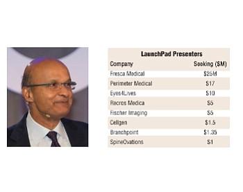 LaunchPad keynoter Ishrak, companies