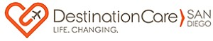 The new logo of DestinationCare San Diego, which through internet marketing looks to appeal to well-heeled tourists in search of health and wellness care. Courtesy of DestinationCare San Diego