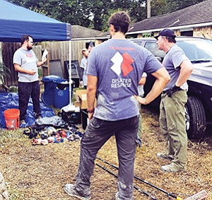 BAE Systems provided nonprofit Team Rubicon satellite and aerial imagery to assist victims in disaster relief efforts during Hurricane Harvey.  Photo courtesy of BAE Systems