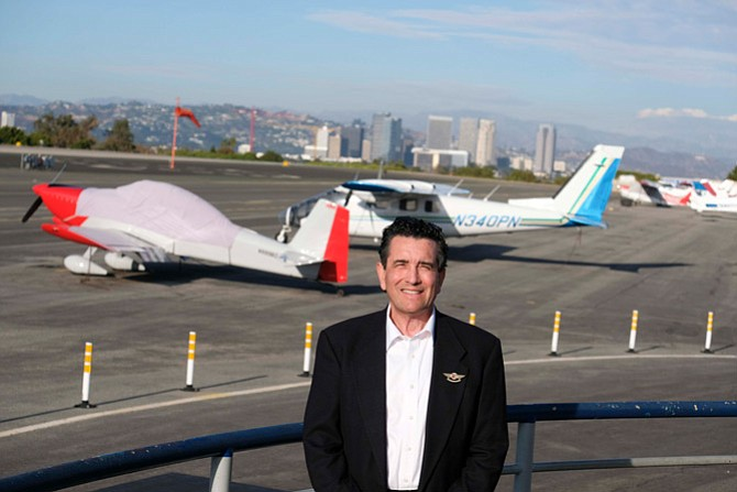 Dave Hopkins, CEO of the Santa Monica Airport Association