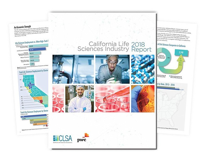 California Life Scicnes Industry 2018 report