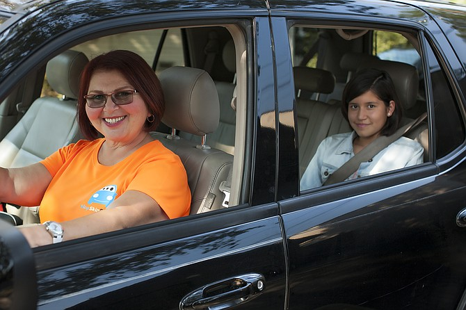 HopSkipDrive operates ride sharing services for children