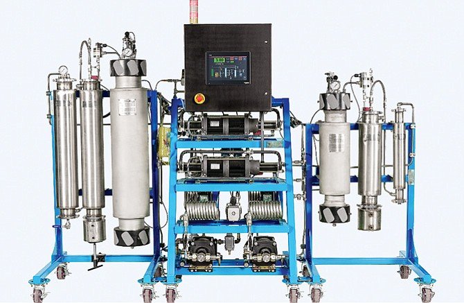 Cannabis oil extraction equipment