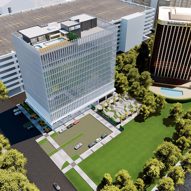 Hyatt hotel rendering