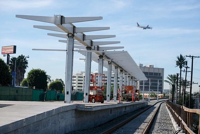 Metro/Crenshaw LAX line