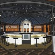 Artist renderings show the combination cocktail bar, retail shop and tasting room set to open in the Westfield UTC mall. Artist renderings courtesy of CH Projects