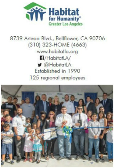 Habitat LA recently welcomed home six new partner homeowners in the City of Downey in October of this year.