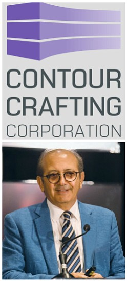 Finalist Berok Khoshnevis of Contour Crafting Corporation
