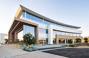 Torrey Point office campus in Carmel Valley is among high-end office projects that are drawing tech companies as tenants. Photo courtesy of CBRE