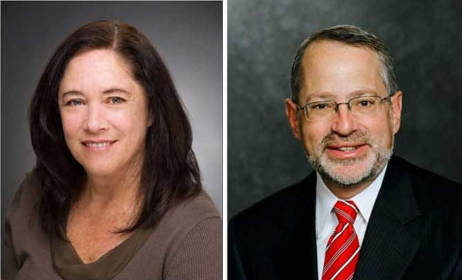 Janet Ruiz, left, and Kenneth Klein.