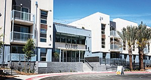CityMark Development's Celsius apartments in Lemon Grove bring urban chic to the suburbs. Photo courtesy of CityMark