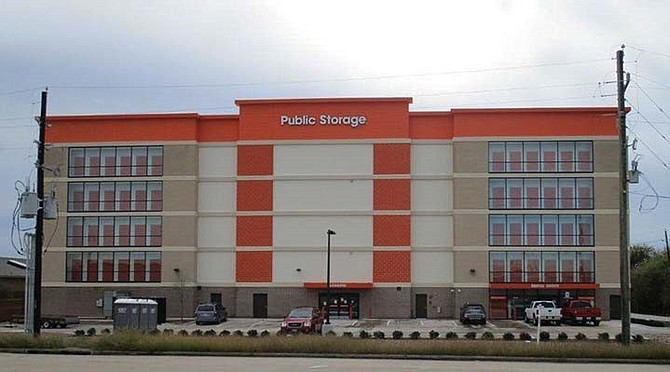 New Public Storage in Richmond, Texas.