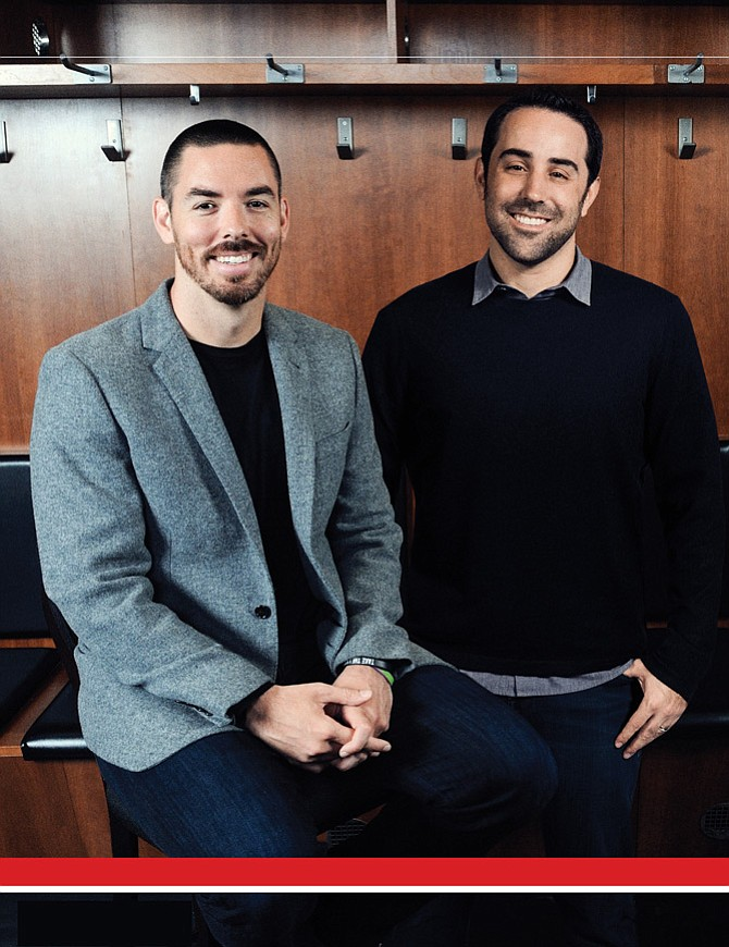Marc Merrill and Brandon Beck, co-founders of Riot Games and co-owners of the Los Angeles Football Club