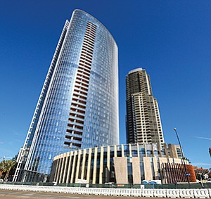 Pacific Gate tower is setting a new high mark for luxury condos in downtown San Diego