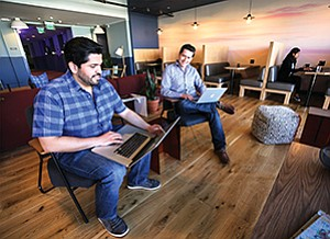 WeWork and other coworking companies are going toe to toe with one another providing such spaces in the San Diego market to win their corner of the market.