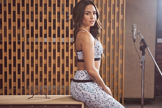 Demi Lovato released her third collection for Fabletics