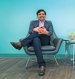 Vishal Verma is the CEO of NucleusHealth, a San Diego-based company