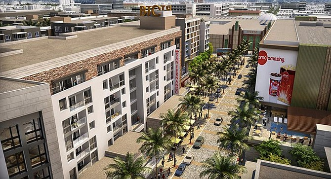 Burbank Town Center Rendering