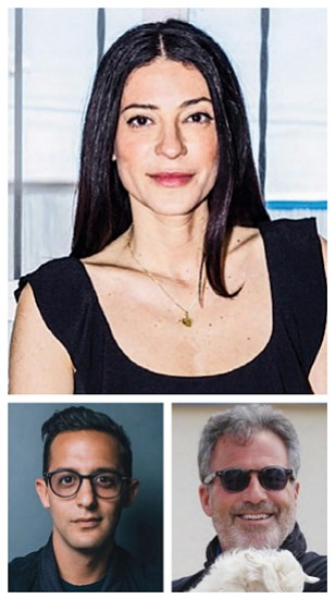 Top: Yael Aflalo, Left: Jonathan Shokrian, Right: Bruce Gifford