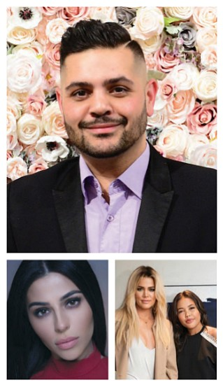 Top: Michael Costello, Left: Teni Panosian, Right: Khloe Kardashian & Emma Grede