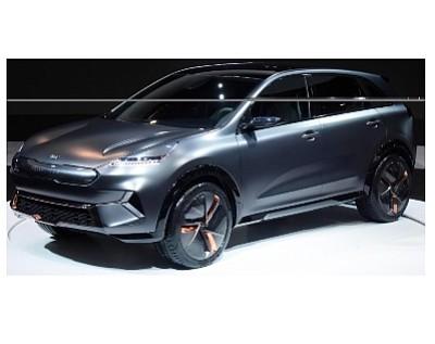 Kia Las Vegas >> Ces 2018 Kia S Ev Concept Car Orange County Business Journal