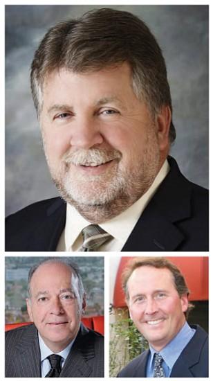 Top: Frank Kaufman, Left: Robert Ezra, Right: Darrin Beer