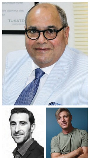Top: Ram Sareen, Left: Adam Goldenberg, Right: Mark Willingham