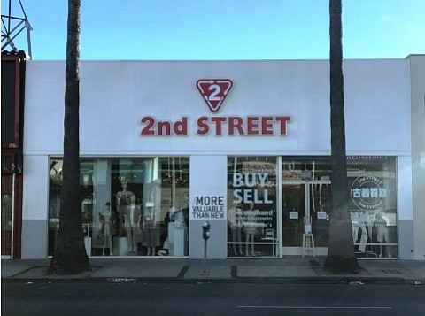 Japan-based second-hand retailer is opening a 2nd Street store on Melrose Avenue.