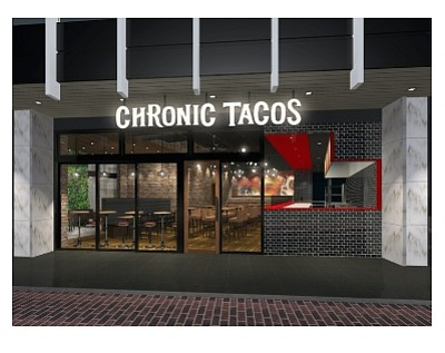 Rendering: Chronic Tacos in Japan