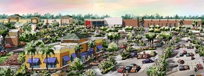 Rendering of the Monterey Park Market Place