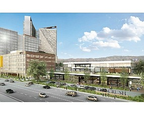 Rendering: Proposed project at former OC Register site