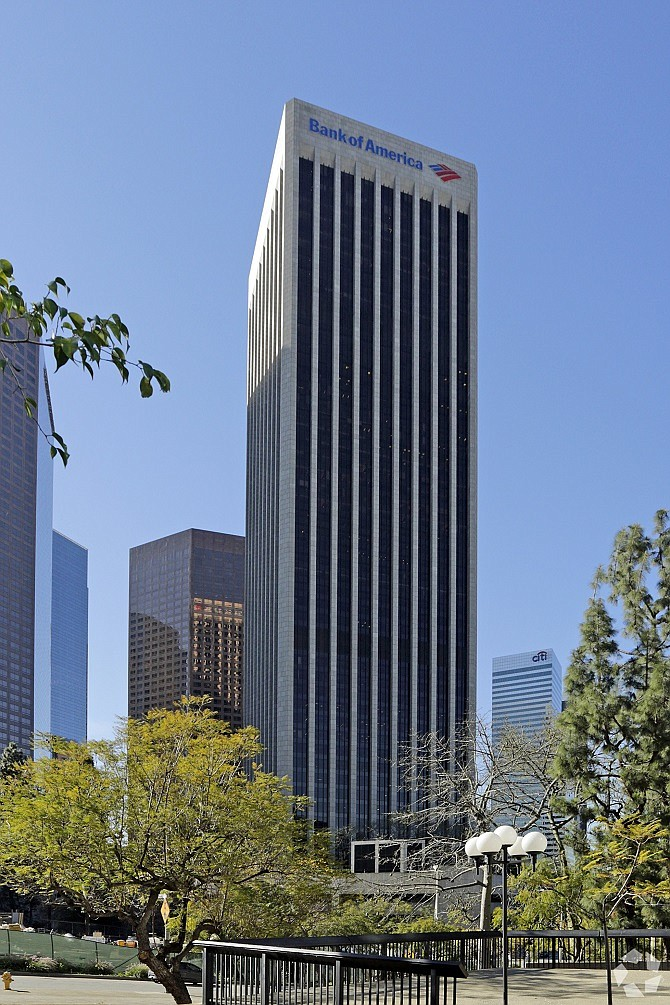 Bank of America Plaza at 333 S. Hope St. in downtown Los Angeles