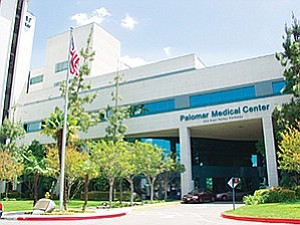 Encinitas-based Integral Communities is reportedly in talks to redevelop a 14-acre hospital property in downtown Escondido. Photo courtesy of Palomar Health