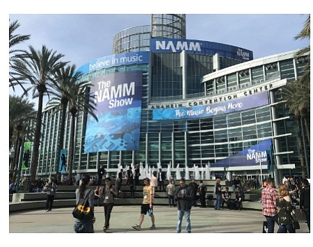 NAMM Show 2018 at Anaheim Convention Center