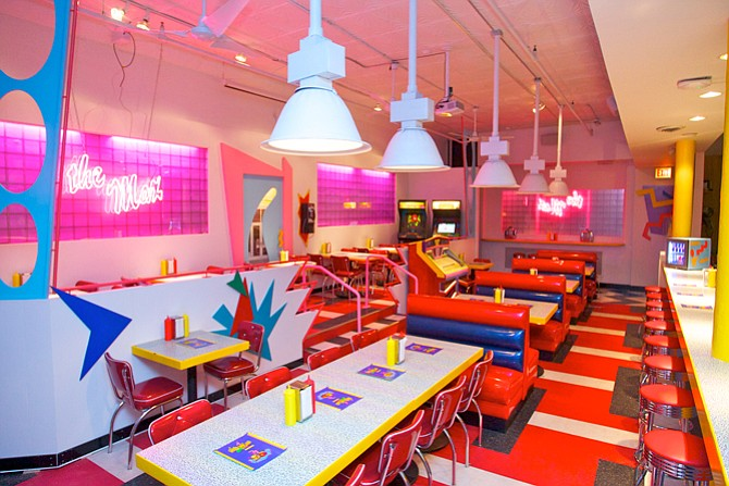 "Saved By the Max eatery, inspired by the 1990s-era TV sitcom ""Saved by the Bell""."