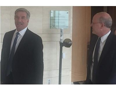 Jim Mazzo and attorney