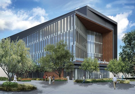 LA Biomed Research Lab rendering.