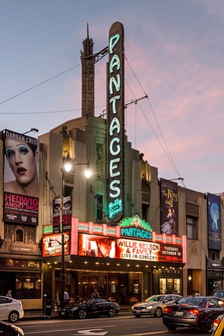 Pantages theater in Hollywood.