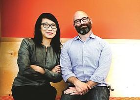Science 37 founders Dr. Belinda Tan and Dr. Noah Craft