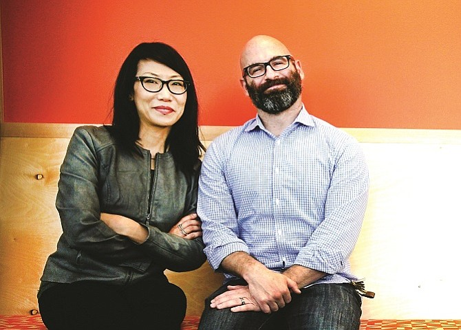 Science 37 founders Dr. Belinda Tan and Dr. Noah Craft